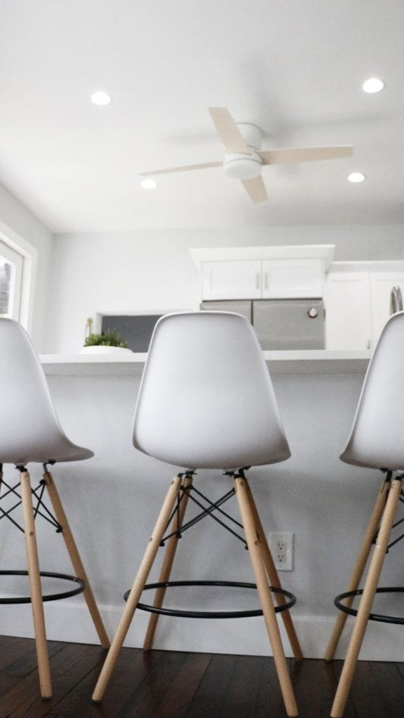 Kitchen Airbnb - advocate simpleconnect fan