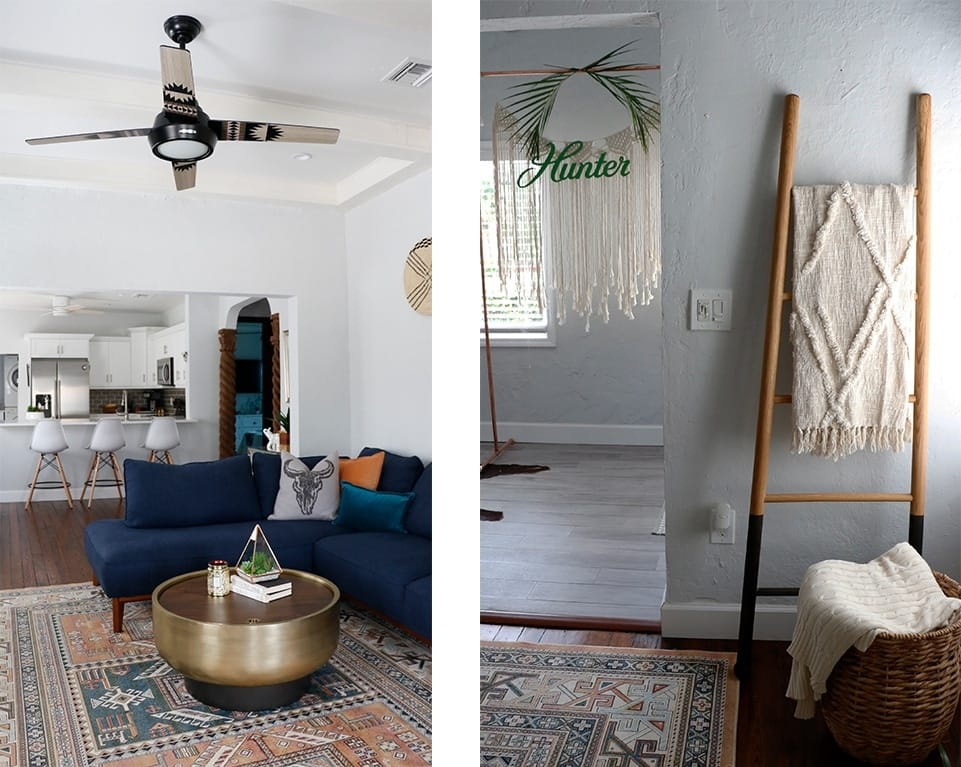 living room in Airbnb