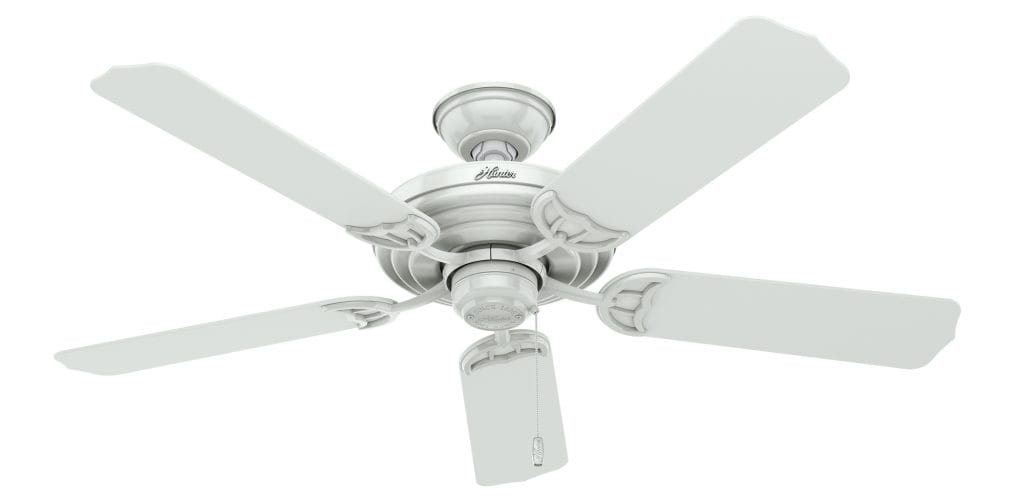 Sea Air Hunter outdoor ceiling fan without light for patios and pergolas