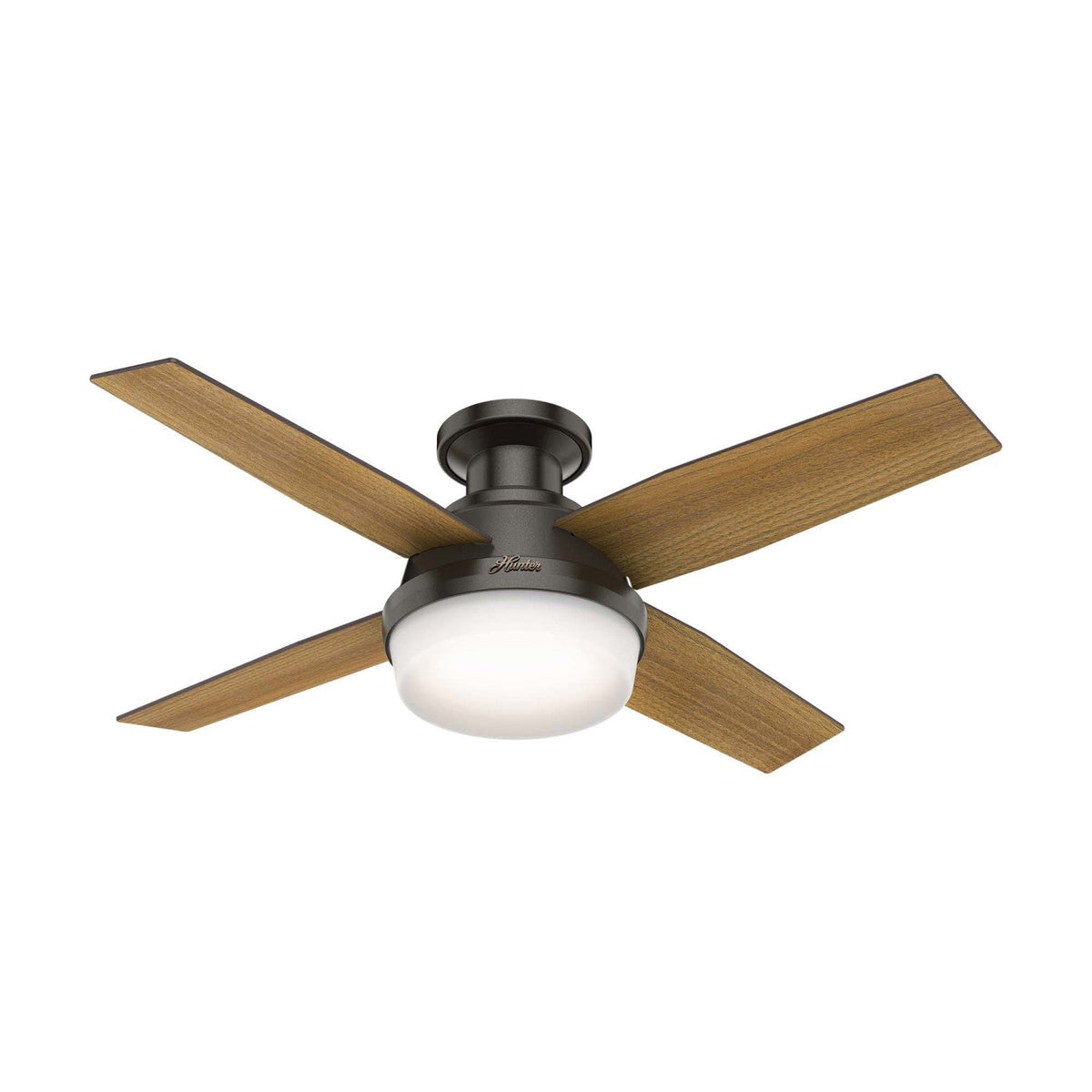 Dempsey Low Profile With Light 44 Inch Ceiling Fan