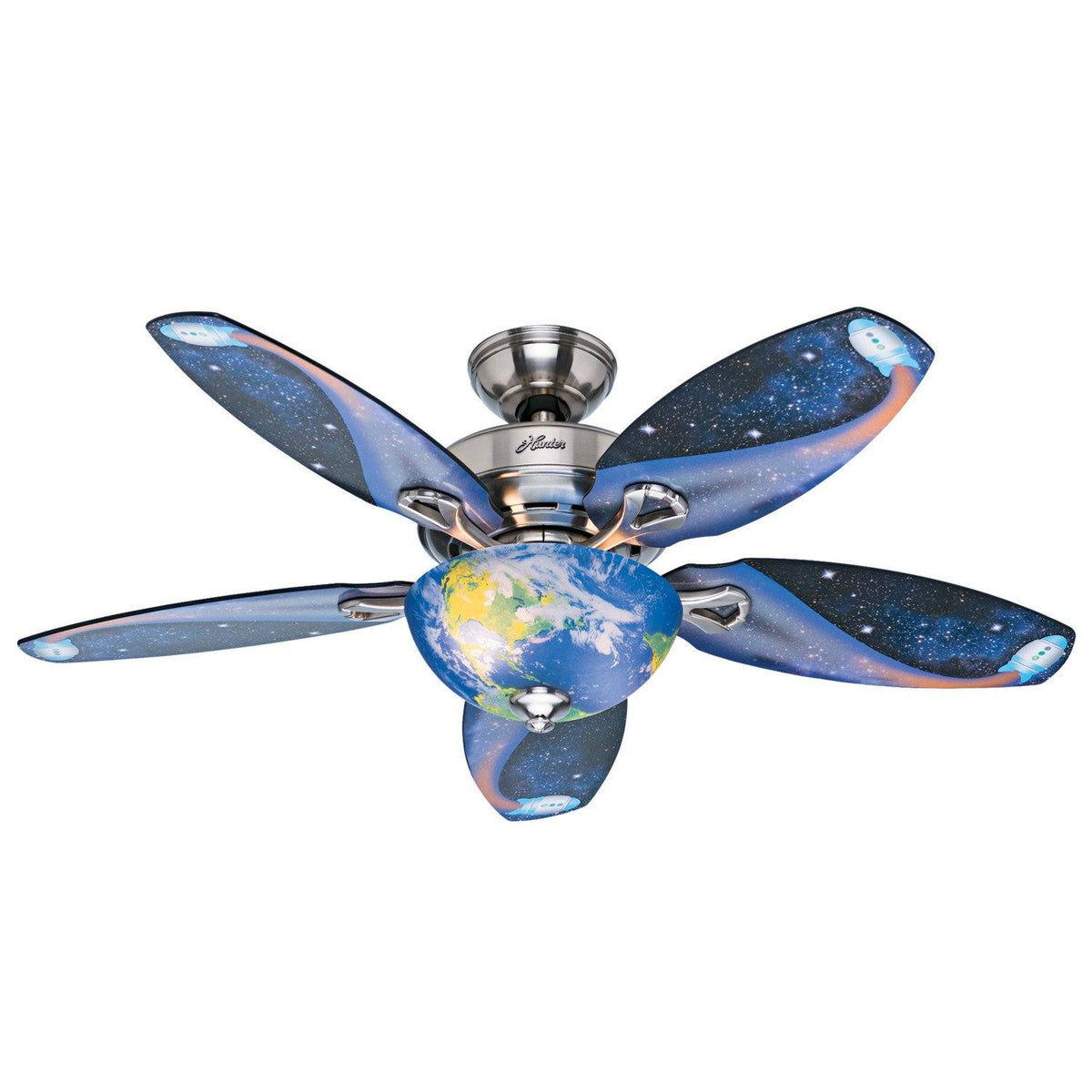 Discovery With Light 48 Inch Hunter Fan