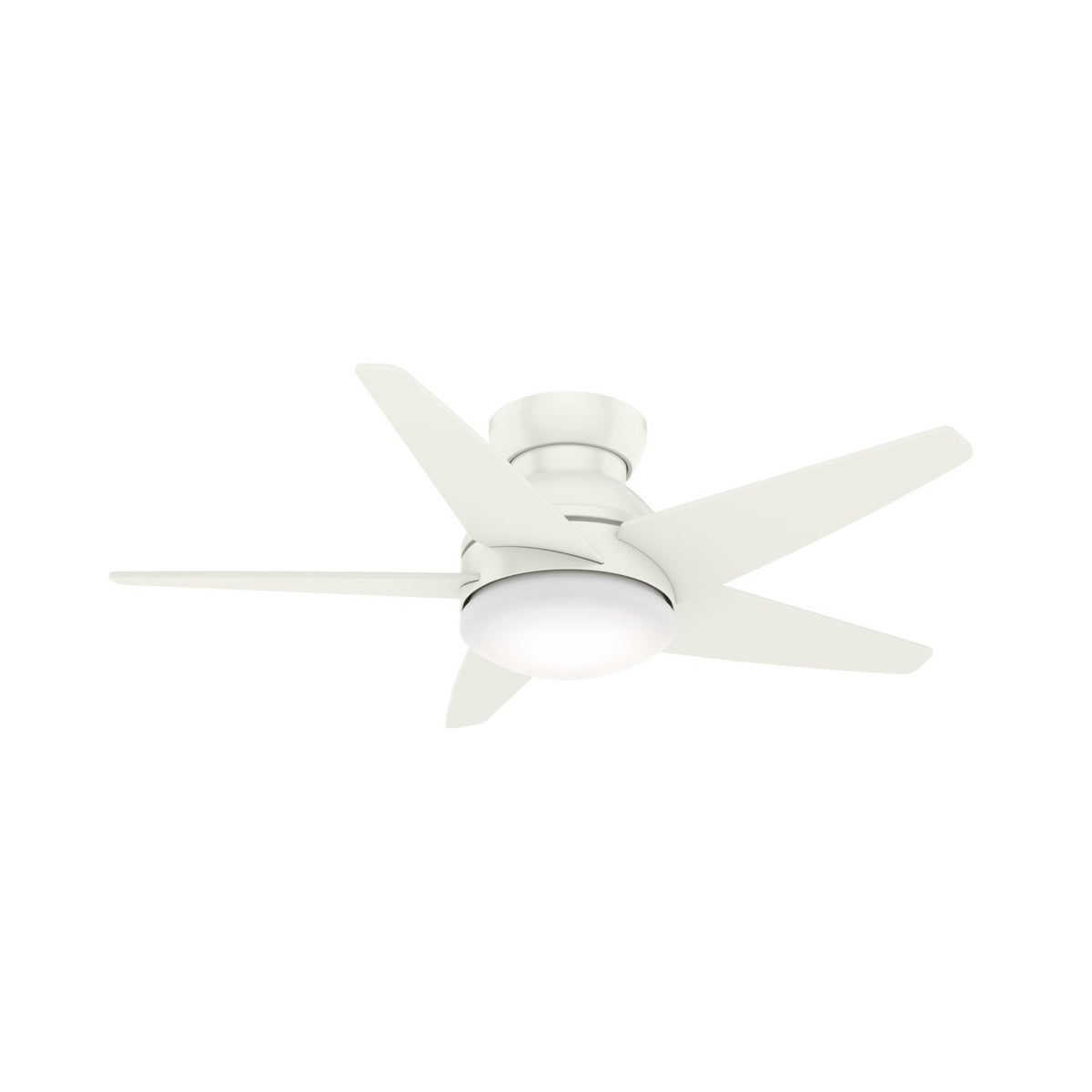 Isotope Low Profile With Led Light 44 Inch U2013 Hunter Fan