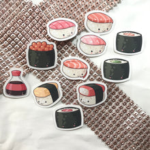 Load image into Gallery viewer, Yummy Sushi Sticker Set