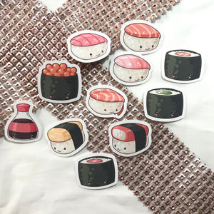 Yummy Sushi Sticker Set