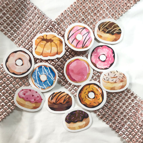 Little Donuts Sticker Set