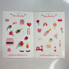 Load image into Gallery viewer, Valentine's Day Sticker Sheet Bundle