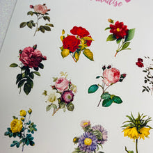 Load image into Gallery viewer, Roses Sticker Sheet