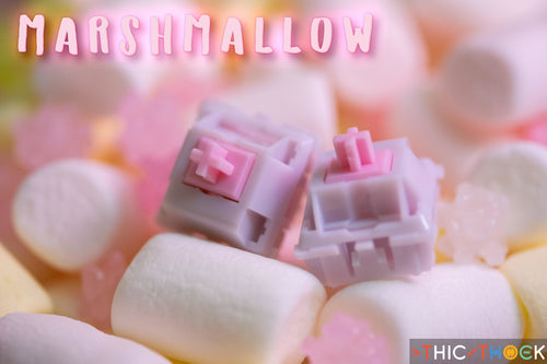 THIC THOCK Marshmallow switches