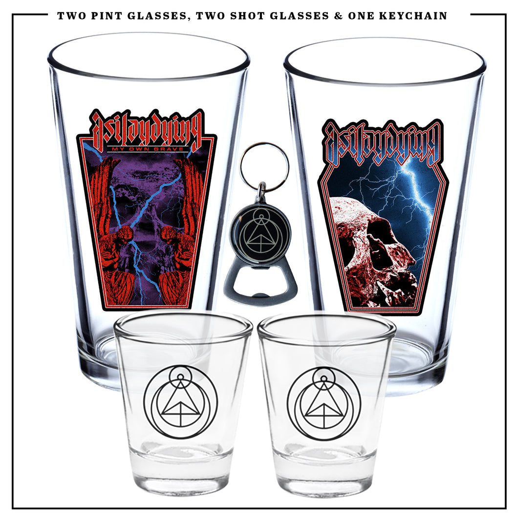 AS I LAY DYING - Limited Edition Pint and Shot Glass Bundle