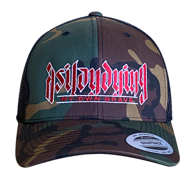 AS I LAY DYING - MY OWN GRAVE CAMO HAT