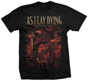 As I Lay Dying - Shaped By Fire 2019 U.S. Tour Tee