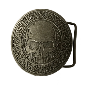 AS I LAY DYING - SKULL BELT BUCKLE