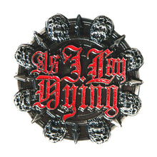 Load image into Gallery viewer, AS I LAY DYING - THRONE BELT BUCKLE