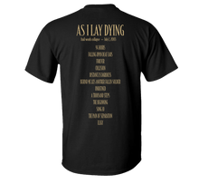 Load image into Gallery viewer, As I Lay Dying - Frail Words Collapse - 17 Year Anniversary Tee