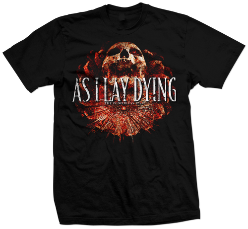 As I Lay Dying - LIMITED EDITION POWERLESS RISE TEE
