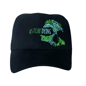 AS I LAY DYING - GREEN SKULL HAT