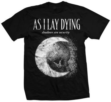 As I Lay Dying - Shadows are Security Tee - Single Color