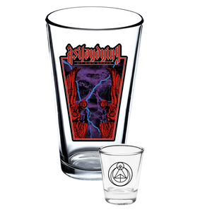 My Own Grave Pint & Shot Glass