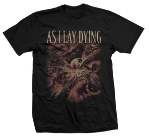 As I Lay Dying - Shaped By Fire - Red Bird Tee
