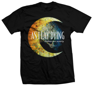 As I Lay Dying - Shadows are Security Tee - 15 Year Anniversary