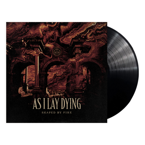 As I Lay Dying - Shaped By Fire - Black Vinyl