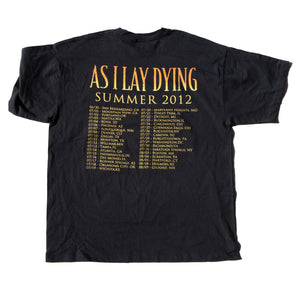 As I Lay Dying - 2012 Summer Tour - Tee