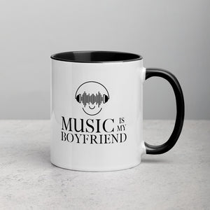 Music Is My Boyfriend - Mug