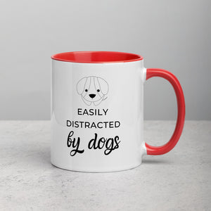 Distracted by Dogs - Mug