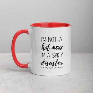 Hot Mess, Spicy Disaster - Mug