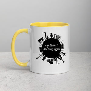 80% Song Lyrics - Mug