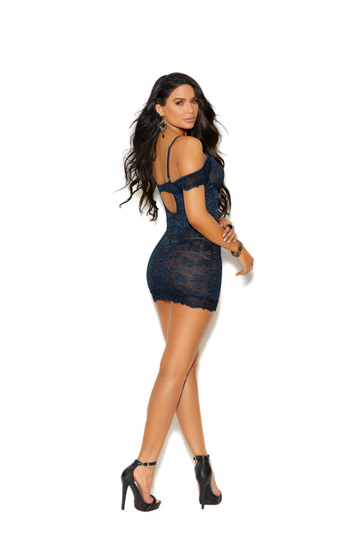 Midnight Blue Chemise