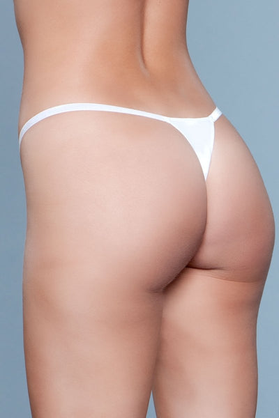 My Go-To Thong White