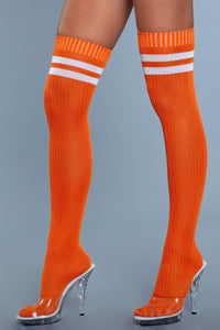 Going Pro Thigh Highs Orange