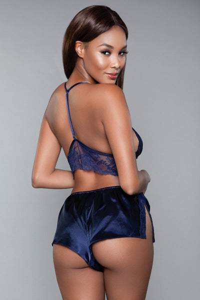Liliana Cami and Short Set Navy