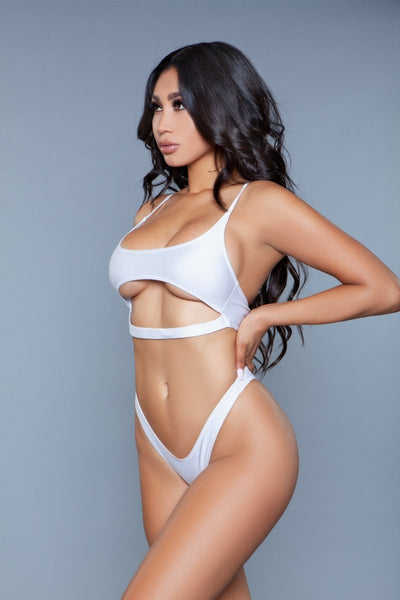 Gianna 2 Piece Swimsuit White