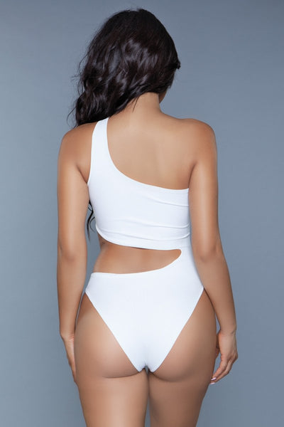 Quinn One Piece Swimsuit White