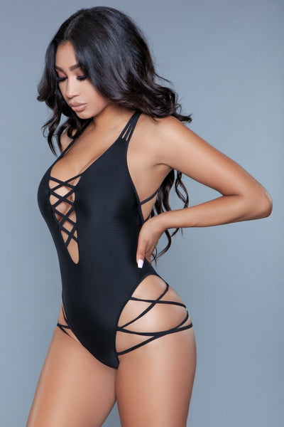 Amaya One Piece Swimsuit Black
