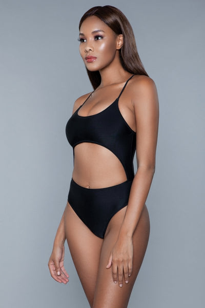 Alina One Piece Swimsuit Black