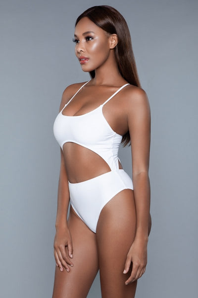 Alina One Piece Swimsuit White