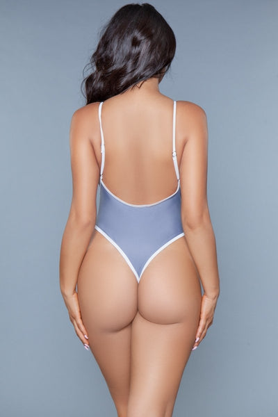 Payton One Piece Swimsuit Grey