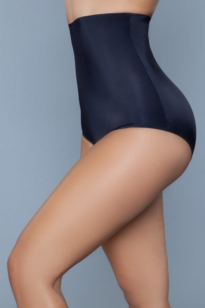 Waist Your Time Shaping Brief Black