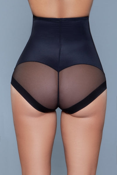 Peachy Soft Shapewear Brief Black