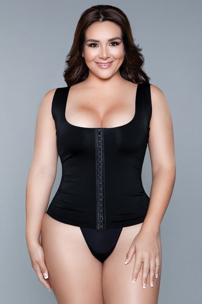 Miraculous Shapewear Top Black