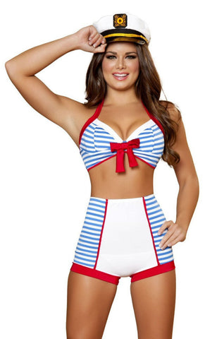 Playful Pinup Sailor Costume