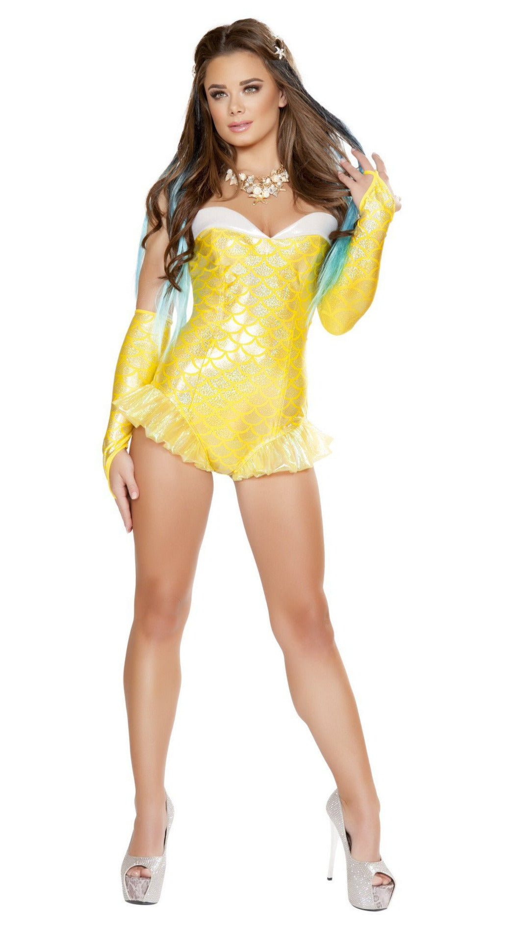 Yellow Mermaid Costume