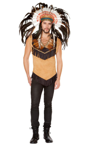 Men's Native Indian Costume