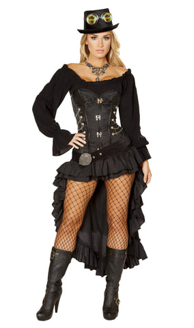 Victorian Steam Maiden Costume