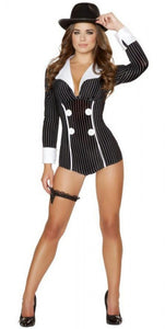Mischievous Mobster Babe Costume