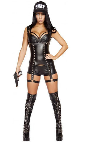 Seductive SWAT Agent Costume