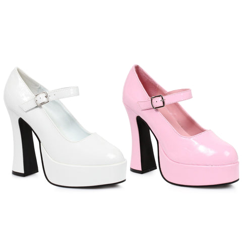 5 Chunky Heel Mary Jane